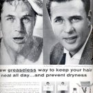 1957  Vitalis Hair Tonic with V-7 ad (# 4780)