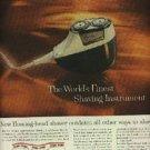 1960  Norelco Speedshaver ad (# 1280)