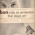 1958  Ban Deodorant  ad (#4103)