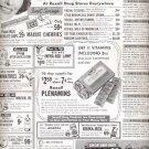 1951 Rexall Drug Store November specials ad (# 4337)