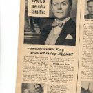 1947 Williams Shaving Cream ad (# 1921)