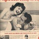 1959 Colgate Dental Cream ad (# 2216)