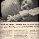 Dec. 13, 1955 New York Life Insurance company ad (# 834)