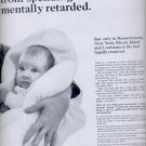 March 27, 1965-    President's Committee on Mental Retardation  ad (# 2842)