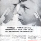 1963  Colgate Dental Cream ad ( # 1890)
