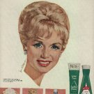1964 Lustre-Creme Shampoo  ad  with Debbie Reynolds(  # 840)