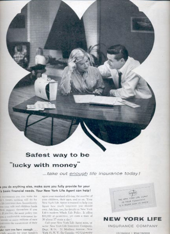 1960  New York Life Insurance Company  ad (#5419)