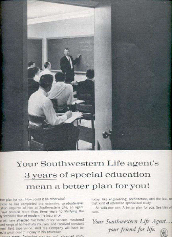 1964 Southern Life Insurance Company  ad (#5405)