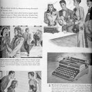 Sept. 22, 1947   Royal Portable Typewriter ad  (#6276)