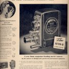 Dec. 8, 1947 Bell & Howell  movie camera    ad  (#6395)