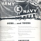 Sept. 21, 1942    American Locomotive      ad  (#3571)