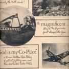 "1945   Curtiss Wright ""God is my Co-Pilot""  ad (# 4421)"