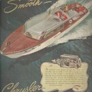 June 1947  Chrylser Marine Engines     ad  (#5544)
