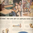 March 3, 1947  U.S. Koylon Foam- United States Rubber Company ad (#6166)