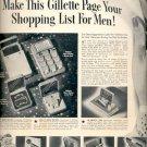 Dec. 18, 1939 Gillette gift sets    ad (#6038)
