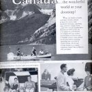 1960  Canadian Government Travel Bureau    ad (#5943)