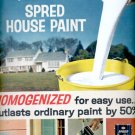 1964 Spred House Paint by Glidden    ad (#5930)