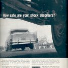1960  Monro-Matic Shock Absorbers  ad (#5835)
