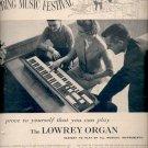 1960  Lowrey Organ   ad (#5840)