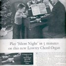 Dec. 1960 The Lowrey Organ   ad (#5751)