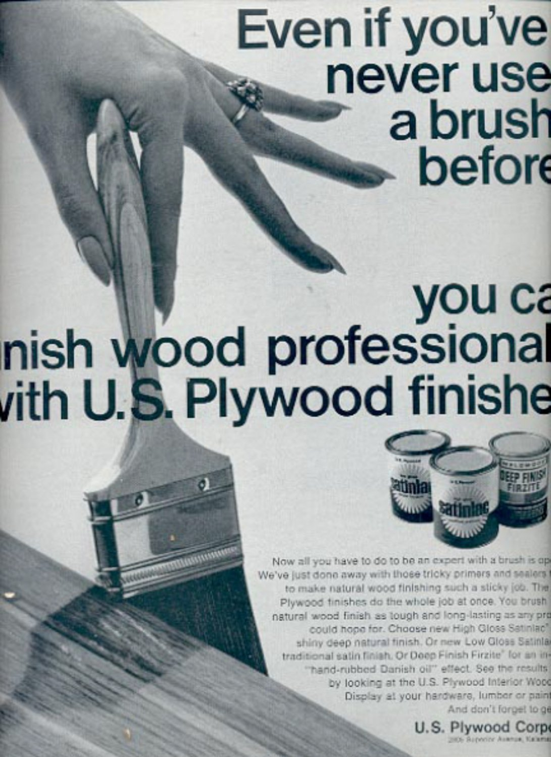 U s plywood corporation ad