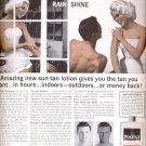 1960  Positan Sun tan Cream Lotion- Tans without sun  ad (# 5290)