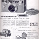 1959   Argus projectors   and cameras  ad (#5569)
