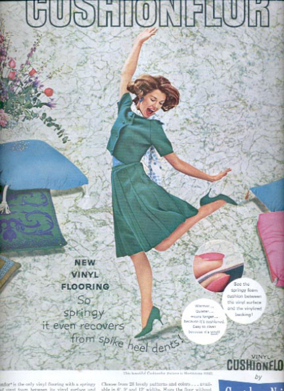 1963 Congoleum-Nairn Fine Floors  ad (#5503)