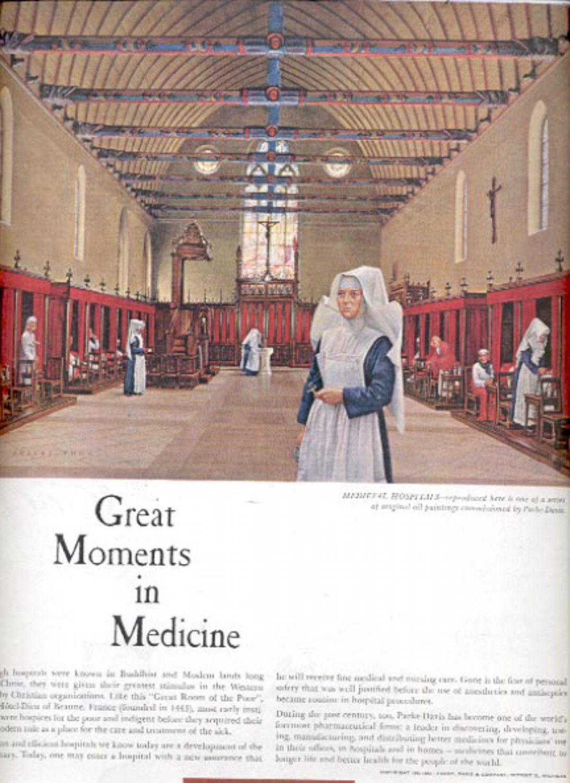 1960  Parke-Davis...Pioneers in better medicines  ad (#5477)