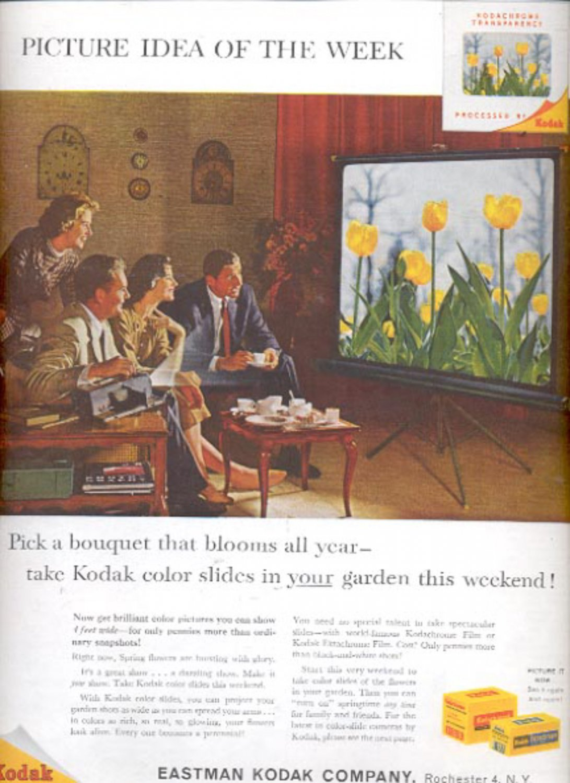 1960 Eastman  Kodak Company color slides   ad (#5451)
