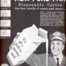 1954   Pure-Pak  Disposable Carton ad (# 5155)