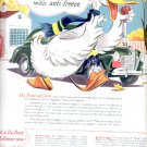 1945  - Du Pont Zerone and Zerex anti-freeze  ad (# 5249)