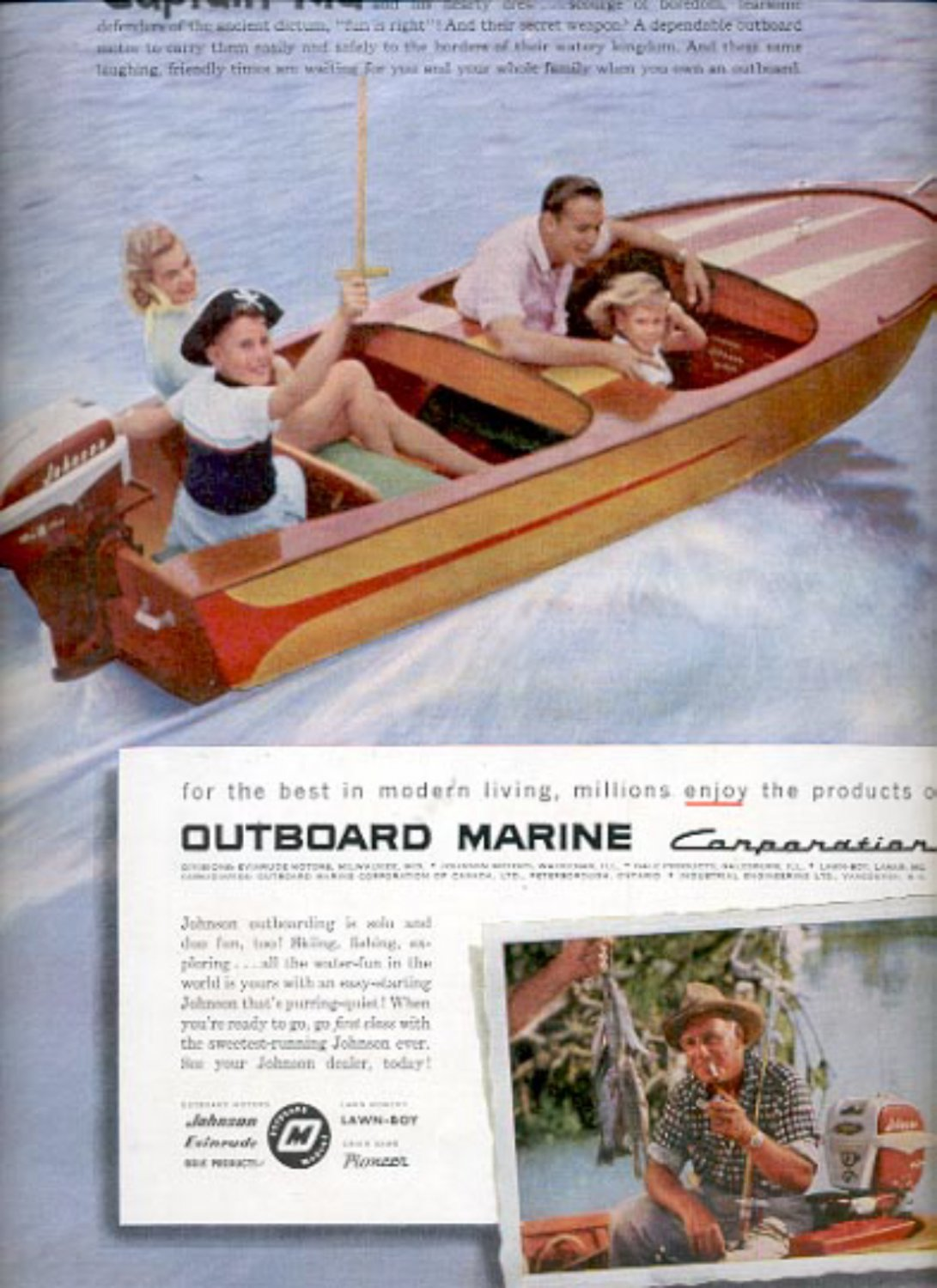 1957  Outboard Marine Corporation  ad (# 4960)