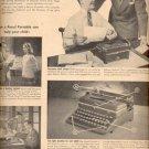 1946  Royal Portable standard typewriter  ad (# 5090)