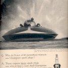 1959   Champion Spark Plug ad (# 4371)