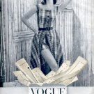 1957  Vogue Printed and Perforated patterns  ad (# 4826)