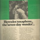 1970 Hercules Incorporated Toxaphene   ad (#4057)