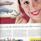 1957  Hertz Rent A Car ad (# 4756)
