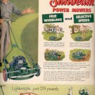 1957  Sunbeam Power Mowers ad (# 4722)