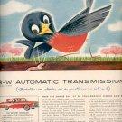 1957  Borg- Warner Automatic Transmissions  ad (# 4654)