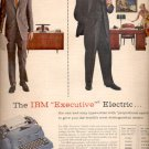 1957  IBM Electric Typewriters ad (# 4662)
