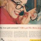 1957  Hertz Rent a Car  ad (# 4657)