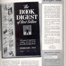 1937  The Book Digest of Best Sellers  ad (# 4402)