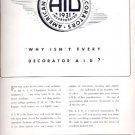 1941    American Institute of Decorators  ad (#4199)