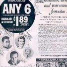 1962  Columbia Record Club ad (# 3058)
