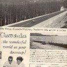 1960  Canadian Government Travel Bureau  ad (#3131)