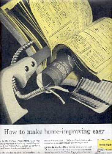 1961  Yellow Pages ad (# 3044)