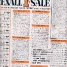 1962  Rexall Store ad (# 1406)