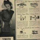1942  Singer Sewing Centers ad (# 676)