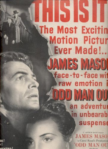 April 21, 1947 Odd Man Out movie with Robert Newton  ad (#6175)